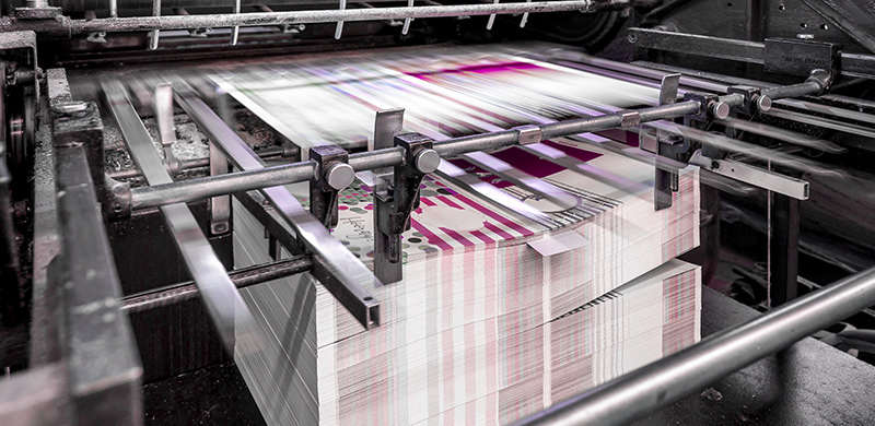 The Power of Print: Printing Press in action